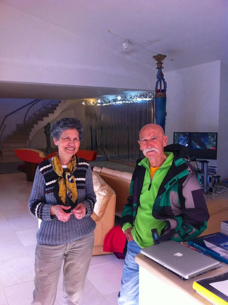 Bota Filipe and Cândida Paz