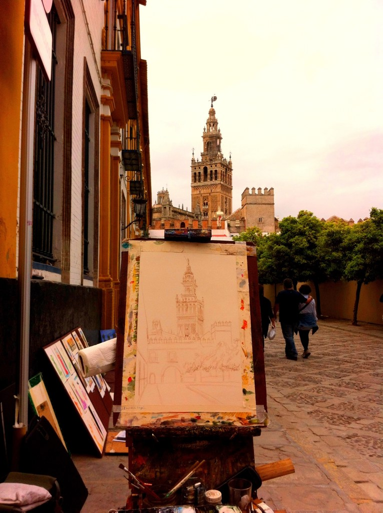 Sevilla Cathedral in the making